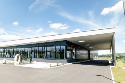 Neubau Fertigungshalle mit Verwaltungsbereich